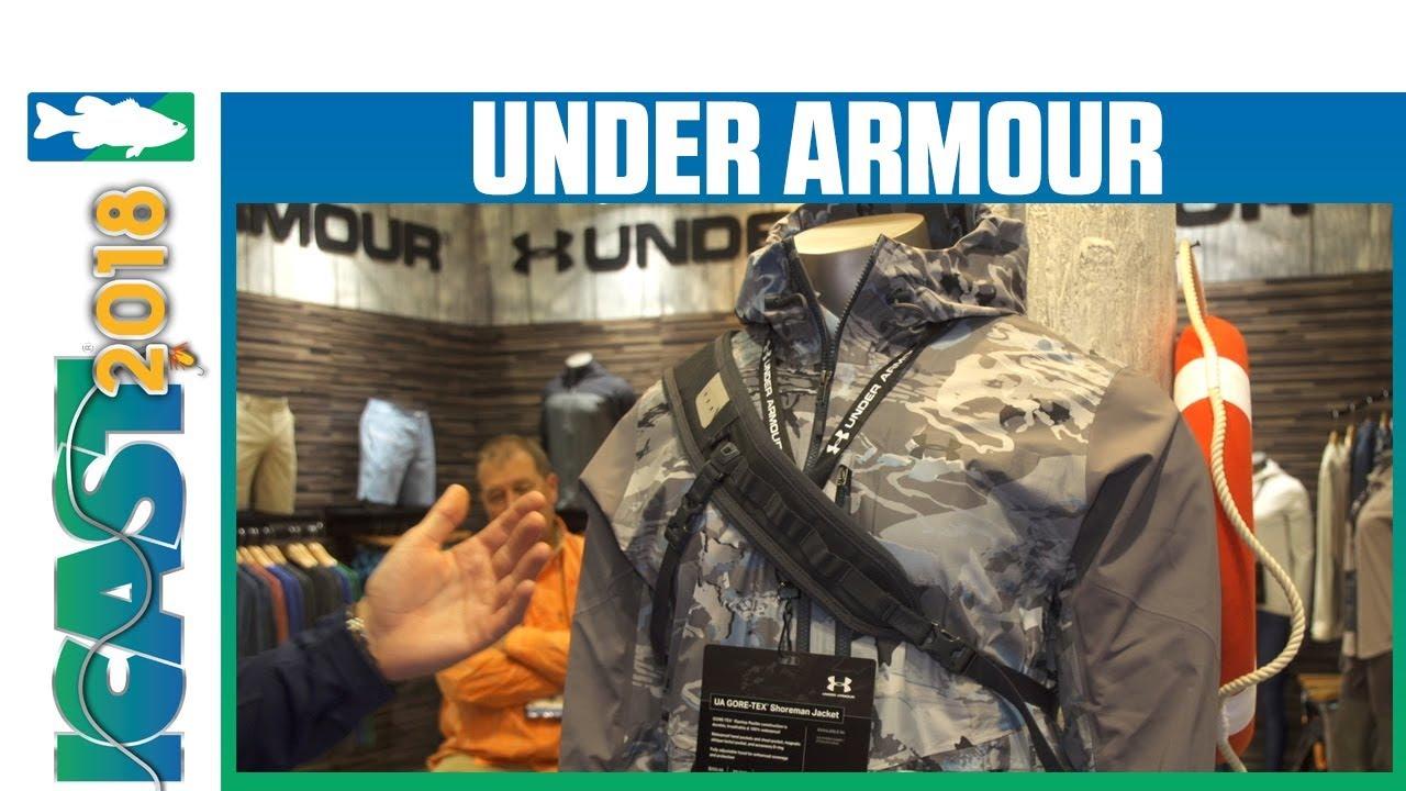 ICAST 2018 Videos - Under Armour Shoreman Jacket cc6a27ca177