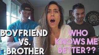 Boyfriend vs. Brother | Chest Workout