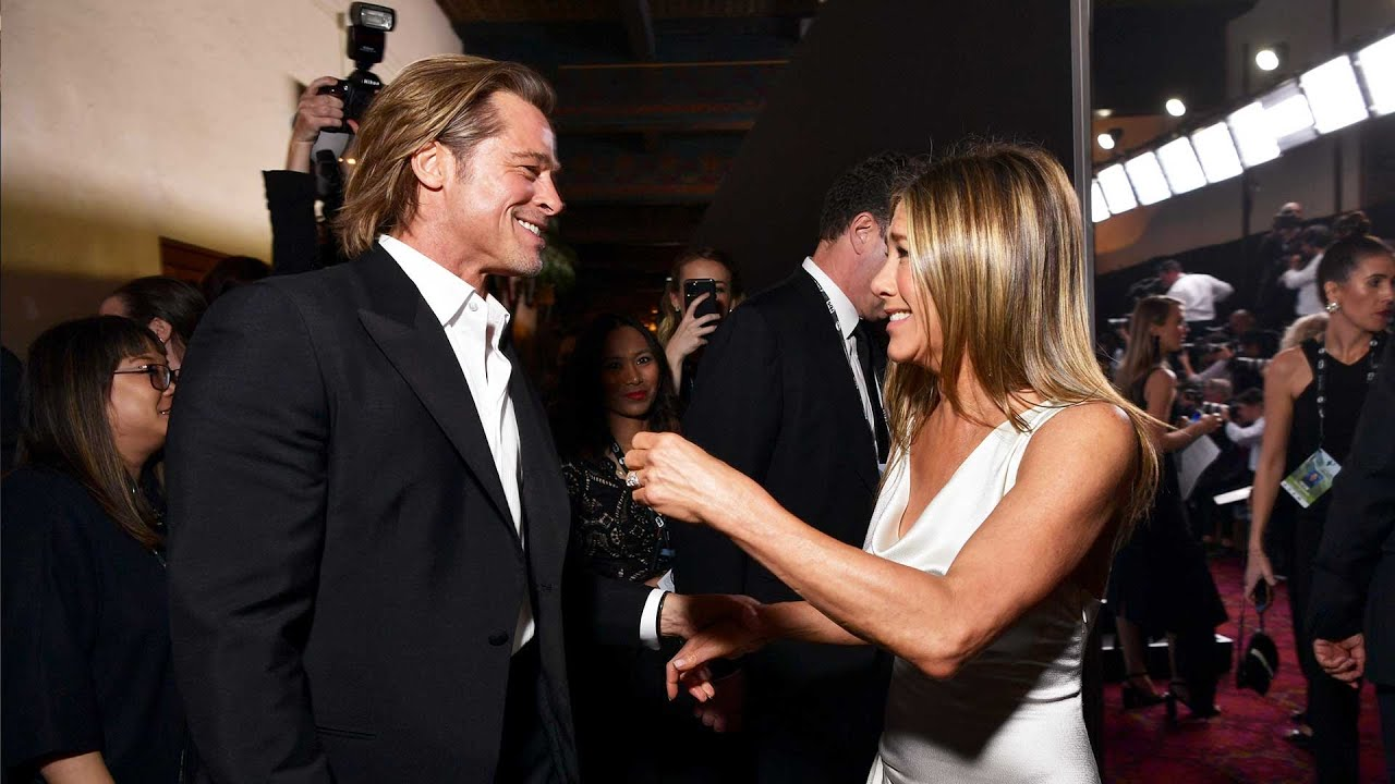 Brad Pitt and Jennifer Aniston reunited at the SAG Awards