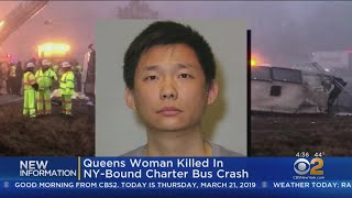 Queens Woman Killed In Charter Bus Crash