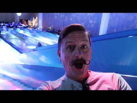 Snow Tubing & Giant Ice Sculptures! | Gaylord Palms Resort ICE! & Christmas Around The World