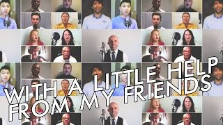 Download With a little help from my friends (Joe Cocker) - Virtual A Cappella Group