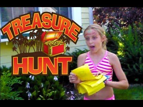 TREASURE HUNT - Fun Block Party Ideas 2012 [MissKellyTV]