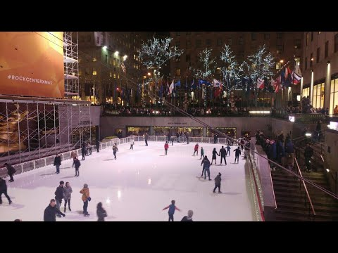 New York 2017 Christmas City Tour, Rockefeller, Macey's, Empire State, Saks, Times Sq, Central Pk
