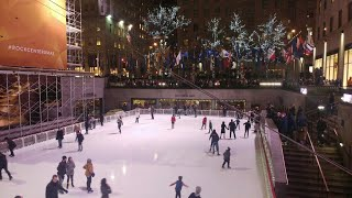 Video New York 2017 Christmas City Tour, Rockefeller, Macy's, Empire State, Saks, Times Sq, Central Park download MP3, 3GP, MP4, WEBM, AVI, FLV Agustus 2018