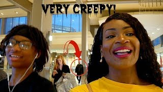 VLOG: WE WERE BEING FOLLOWED... & AMIA'S PROM SHOPPING!