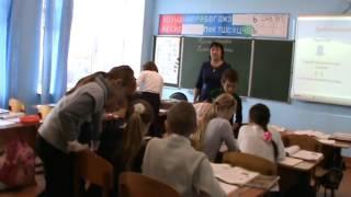 Урок русского языка в 4 классе Калимуллиной Р.Р.