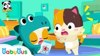 Baby Kitten, It's not Candy   Play Safe Song   Nursery Rhymes   Baby Song   Kids Learning   BabyBus