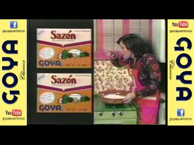 Clásico Sazón Goya - Es un tiro (70's)