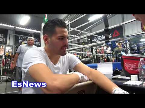 Jose Ramirez Reveals Which Spanish Singer Is Going To Walk Him Out For His  Next Fight EsNews Boxing