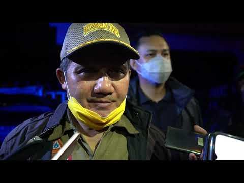 Walikota dan Wakil Walikota Gorontalo, Kunjungi Tempat Pengunsian dan Membagikan Makanan Siap Saji