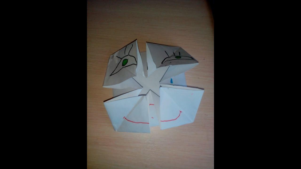 оригами из бумаги смайлы меняющие лицо пошагово в картинках своим великолепием