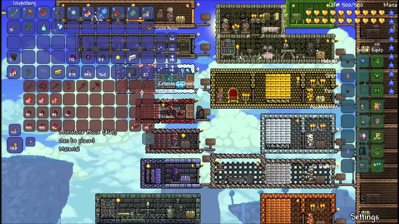 Terraria lp episode 34 special crafting showcases youtube for Fishing poles terraria