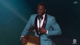 Draymond Green wins Defensive Player of the Year Award | NBA on TNT