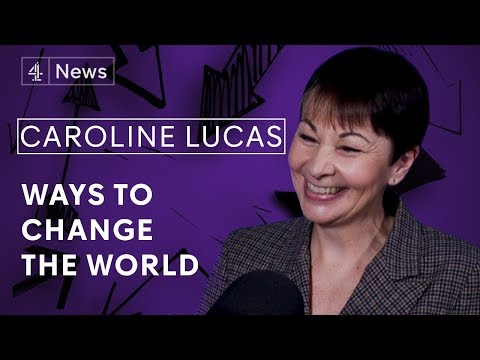 Caroline Lucas MP on basic income, working less and the power of Parliament