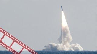 Первый запуск ракеты с подводной лодки
