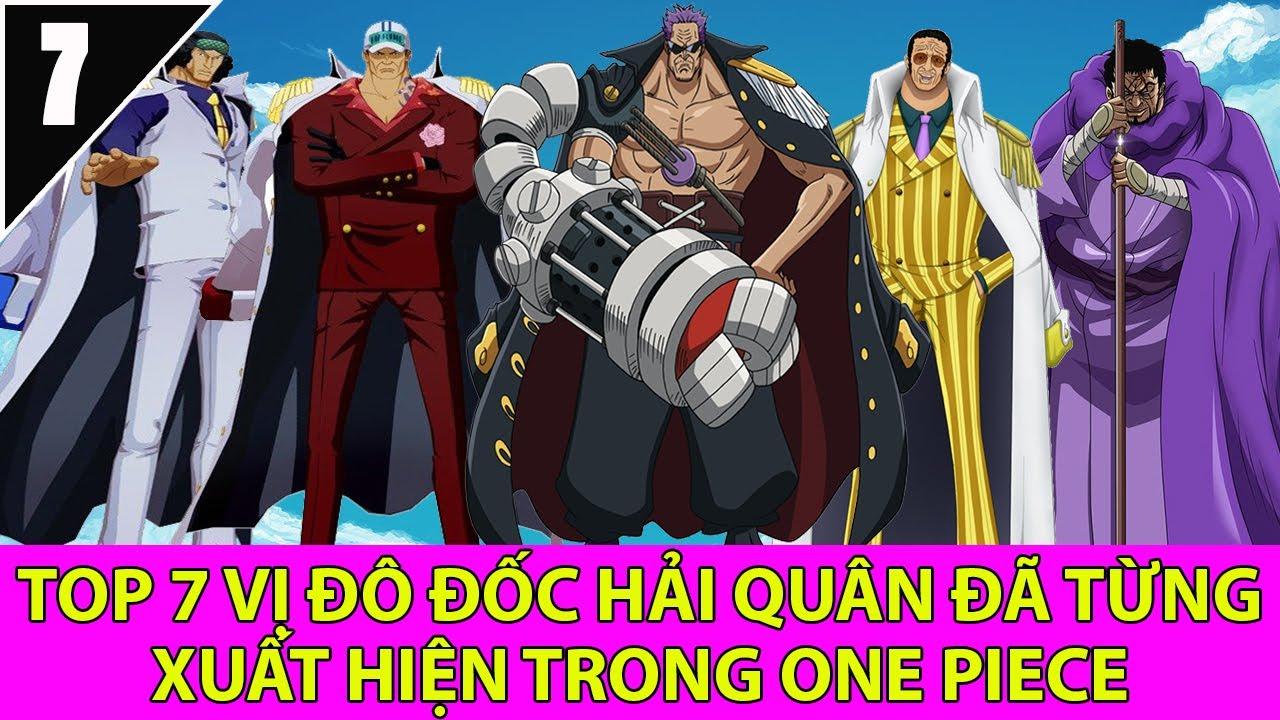 Top 7 vị đô đốc hải quân từng xuất hiện trong One piece có thể bạn chưa  biết - Top Anime