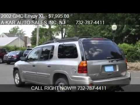 2002 gmc envoy xl xl sle 4wd for sale in middletown nj 07 youtube. Black Bedroom Furniture Sets. Home Design Ideas