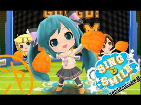 SING & SMILE - SUB ESP - « Hatsune Miku Project MIRAI  »