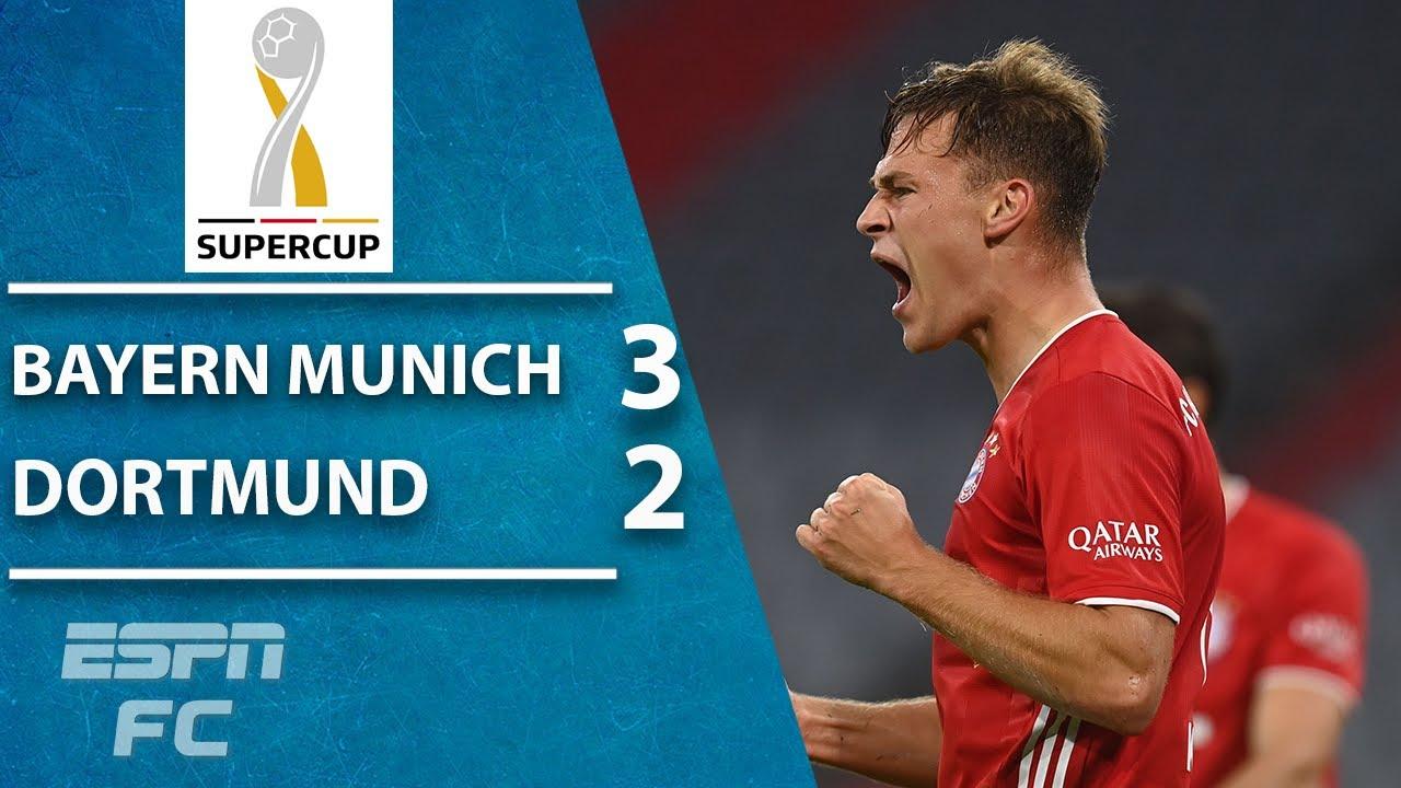 DFL-Supercup: Bayern Munich stars react to winning their first ...