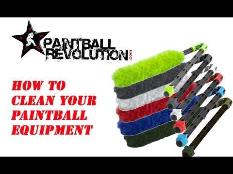 How to Clean Your Paintball Equipment-  Cleaning Options for Pods & Barrels