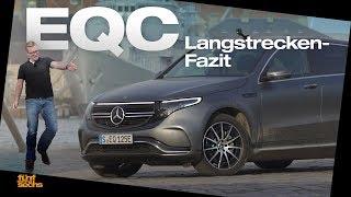Mercedes EQC Long Distance Drive: Our Verdict (German)