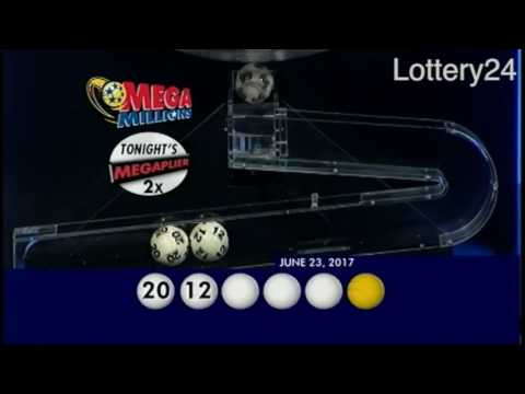 2017 06 23 Mega Millions Numbers and draw results