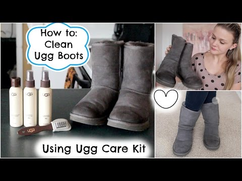 How to Clean Ugg Boots: Using Ugg Care Kit ☼