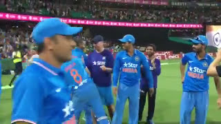 vuclip Celebrations of Indian Team after T20 series win against Australia 2016