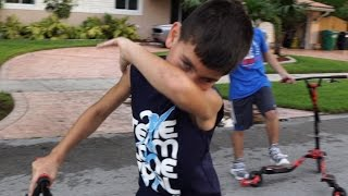 Savage little kid OBSESSED WITH DABBING..