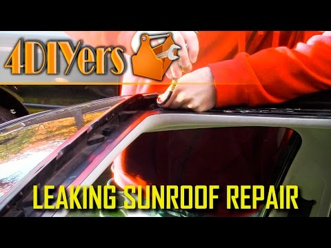 DIY: How to Unclog a Sunroof Drain