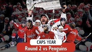 Caps Year (Part 2) - ECSF vs Pittsburgh Penguins 2018