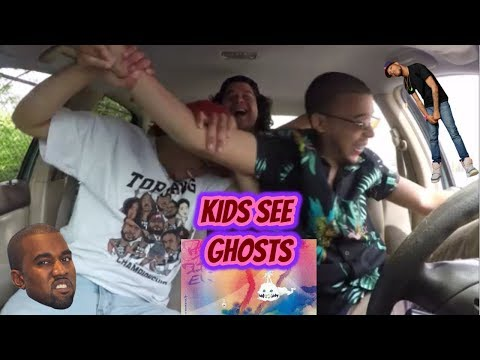 KIDS SEE GHOSTS - KANYE WEST & KID CUDI (ALBUM) REACTION REVIEW