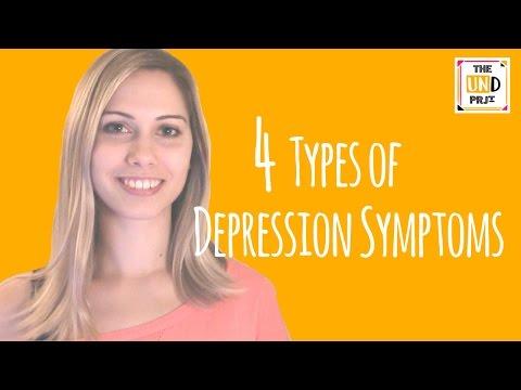 4 Types of Depression Symptoms