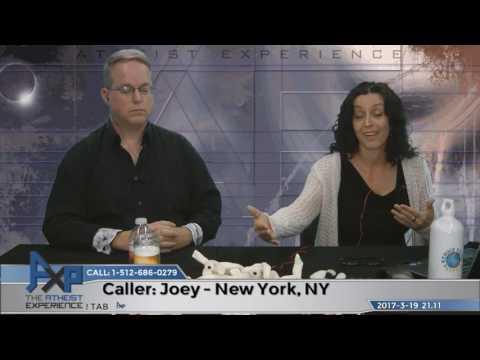 Atheist Thinks Intelligent Design is Valid   Joey – New York, NY   Atheist Experience 21.11