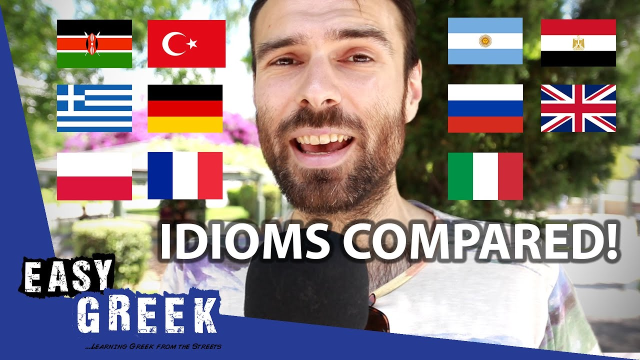 Greek Idiom Compared: Speak of the Donkey | Easy Greek 72