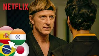 The Best Of Cobra Kai In Other Languages   Dub Swap   Netflix