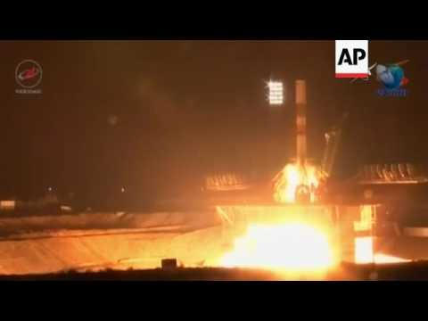 Cargo craft launches with supplies for ISS