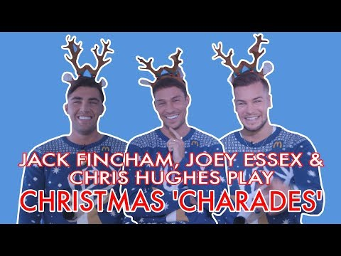 Jack Fincham, Joey Essex and Chris Hughes play our Christmas game!