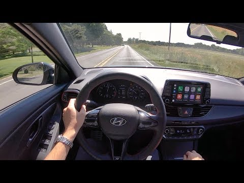 2019 Hyundai Elantra GT N Line (6-Speed Manual) - POV Driving Impressions