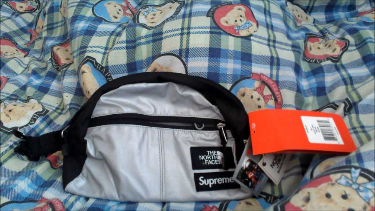 2b66d9f92 Supreme x The North Face Reflective 3M Roo II Waistbag Spring Summer 2013  Unboxing and Review Pouch