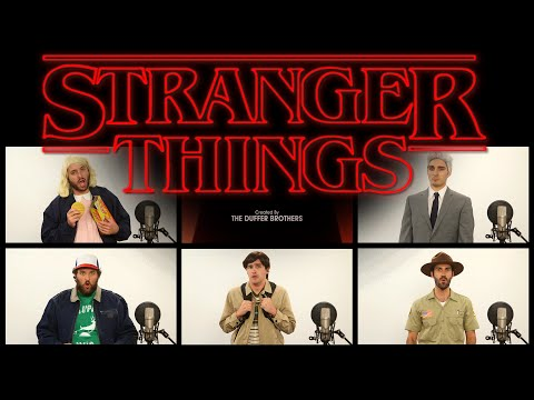 STRANGER THINGS THEME SONG ACAPELLA