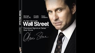 Blu-Ray Unboxing: Wall Street Filmmakers Signature Series By Director Oliver Stone