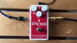 5 Minutes with the Electro-Harmonix Nano Pog - Pedal Demo