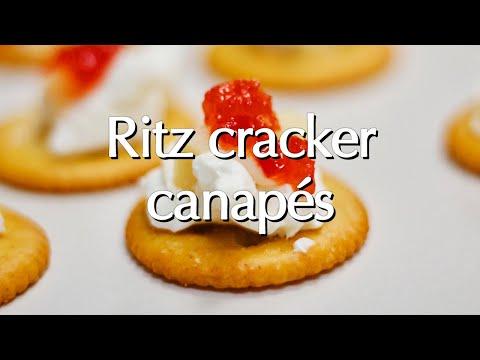 Ritz Cracker Canapés: Dinner Party Tonight Shorts