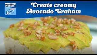 Creamy Avocado Graham Cake