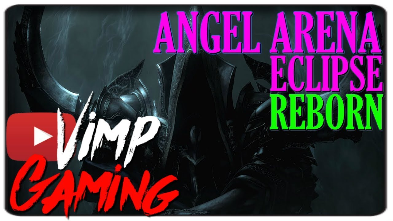Warcraft 3 | Angel Arena Eclipse Reborn | Malthael, Death Itself