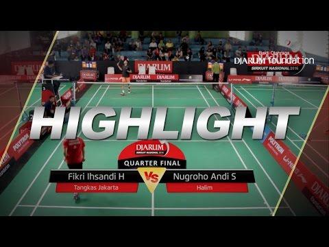 Fikri Ihsandi H (Tangkas Jakarta) VS Nugroho Andi S (Halim)