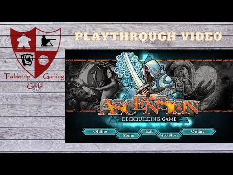 Ascension Deck Building Game Digital Playthrough |