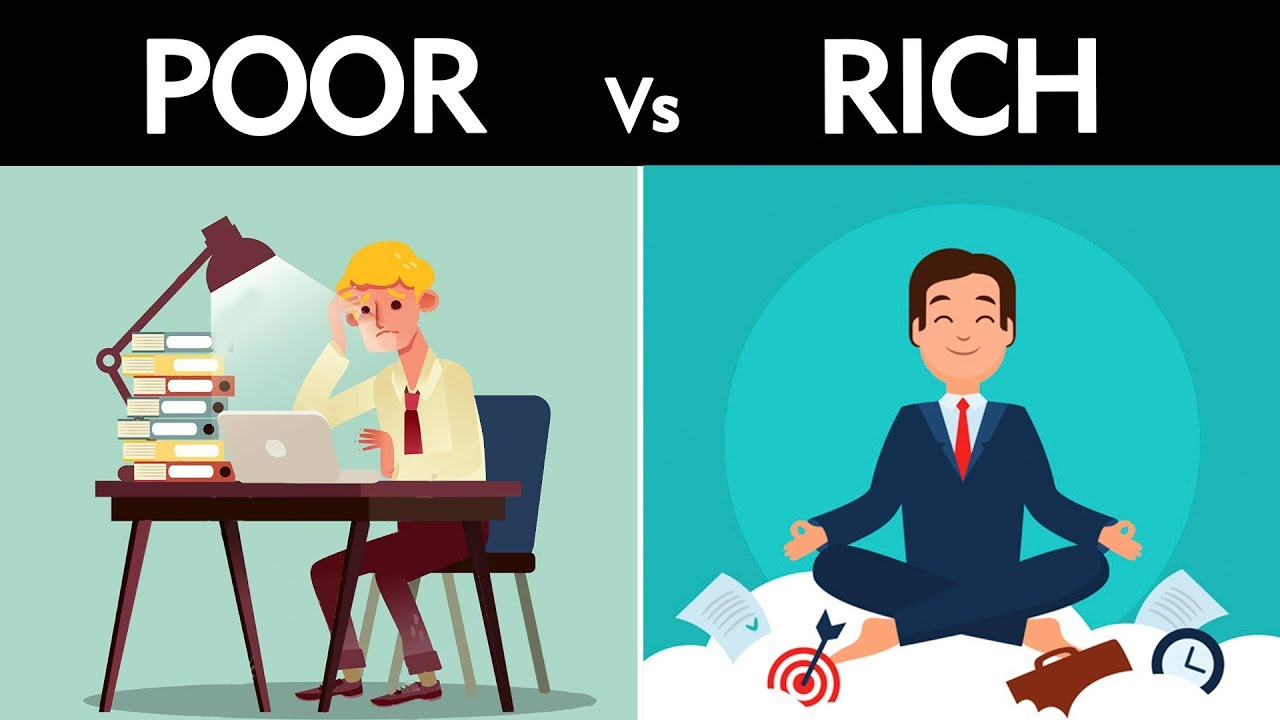 How to be Rich? | Motivational Video | Rich Vs Poor